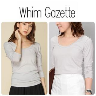 TOMORROWLAND - Whim Gazette ウィムガゼット カットソー 七分袖 コットン 日本製