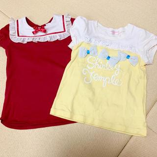 Shirley Temple - シャーリーテンプル Tシャツ 120 セット