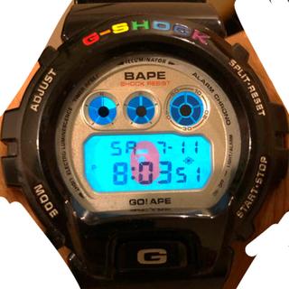アベイシングエイプ(A BATHING APE)のエイプ 1000個限定 G SHOCK(腕時計(デジタル))