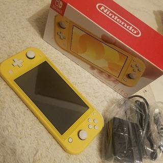 ニンテンドースイッチ(Nintendo Switch)の任天堂Switch!Lite(イエロー)(家庭用ゲーム機本体)