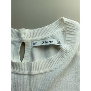 ザラ(ZARA)のZARA トップス ニット 半袖【送料込】(カットソー(半袖/袖なし))