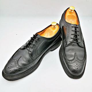 FLORSHEIM フローシャイム インペリアル US8.5E 黒(ドレス/ビジネス)