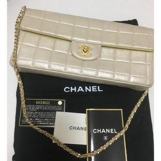 CHANEL - CHANEL ゴールド バッグ