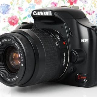キヤノン(Canon)の★Wi-Fiセット★Canon kiss x2 レンズセット(デジタル一眼)