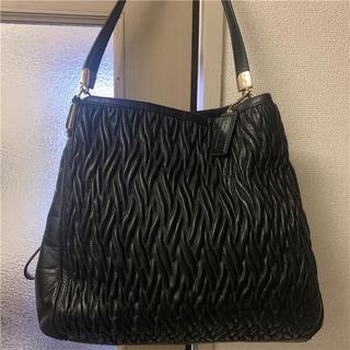 COACH - 美品 COACH 約6.5万 多収納本革バッグ