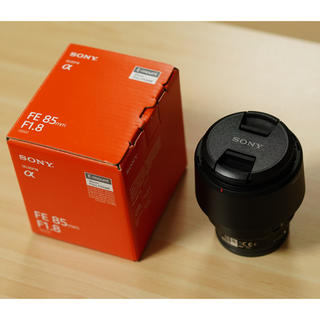SONY - ソニー SONY SEL85F18 FE 85mm F1.8 ソニーEマウント