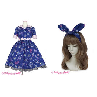 Angelic Pretty - Angelic Pretty Neon Star Diner ワンピース コン