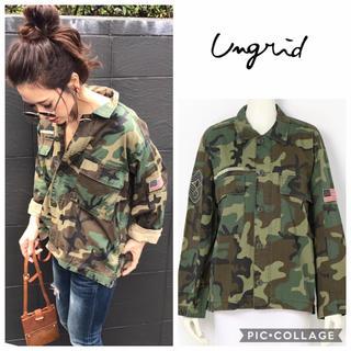 Ungrid - Ungrid**AVIREXミリタリーショートシャツ