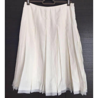 エフデ(ef-de)のenquete  膝丈スカート(ひざ丈スカート)