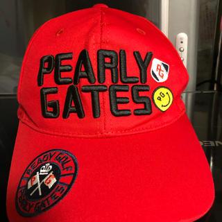 PEARLY GATES - 訳あり PEARLY GATES ゴルフキャップ