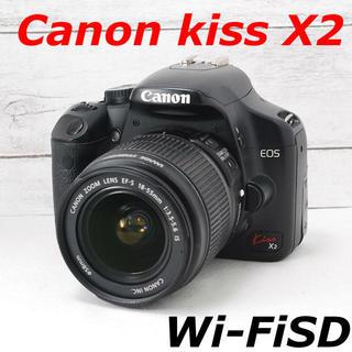 キヤノン(Canon)の❤️一眼入門❤️スマホ転送❤️Canon kiss X2(デジタル一眼)