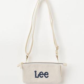リー(Lee)の新品 Lee ウォレットショルダーバッグ ホワイト(ショルダーバッグ)