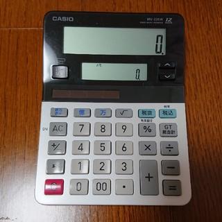 CASIO - カシオ  CASIO  電卓  2画面メモ