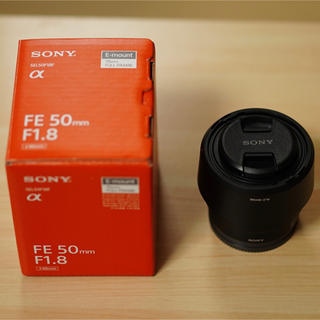 SONY - ソニー SONY SEL50F18F FE 50mm F1.8 ソニーEマウント