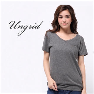 Ungrid - Ungrid BASIC Tシャツ♡goa リリーブラウン ベイフロー ZARA