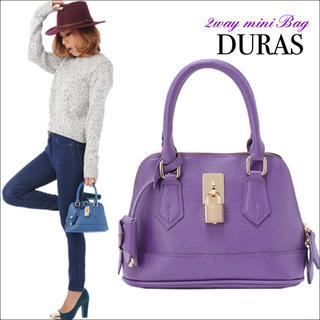 DURAS - DURAS ミニ2wayバッグ ハンドバッグ ショルダーバッグ♡rienda