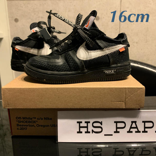 NIKE - 子供 Nike × Off White THE TEN Air Force1
