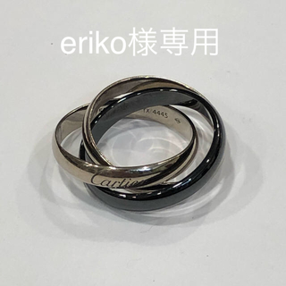 カルティエ(Cartier)のCartier Trinity Ring ,Classic Ceramic(リング(指輪))