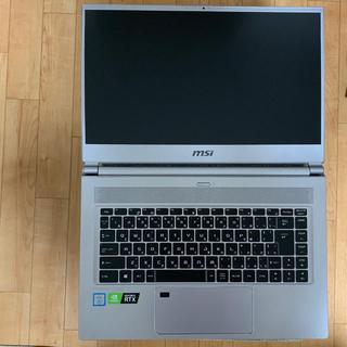 MSI P65 ゲーミング ノートPC i7 9750h rtx2060