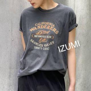 L'Appartement DEUXIEME CLASSE - エーピーストゥディオ AP STUDIO グッドロックスピー バイカー Tシャツ