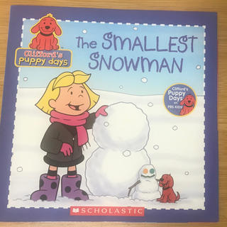 英語絵本 Clifford's The SMALLEST SNOWMAN未使用(洋書)