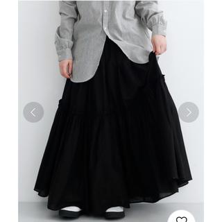 merlot - 未使用 MERLOT IKYU ティアードフリルスカート