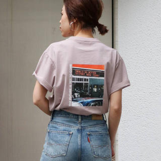 Ungrid - 定価以下【新品】Ungrid カラーフォトTee Tシャツ 大人気 再入荷