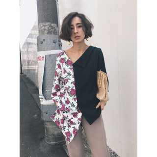 Ameri VINTAGE - LUCY UNBALANCE TOP アメリヴィンテージ