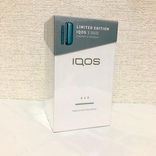 アイコス(IQOS)のアイコス IQOS 3 DUO ルーシッドティール  新品(タバコグッズ)