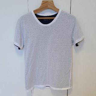 ナノユニバース(nano・universe)のTシャツ 白 青(Tシャツ/カットソー(半袖/袖なし))