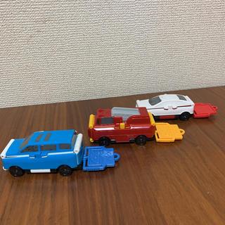 バンダイ(BANDAI)のハッピーセット ブーブ(VooV)3台セット(ミニカー)