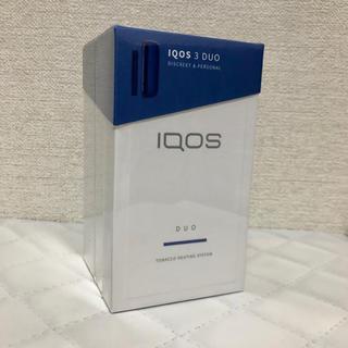 アイコス(IQOS)のアイコス IQOS 3 DUO ステラーブルー 新品(タバコグッズ)