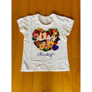 エフオーキッズ(F.O.KIDS)のALGY アルジー  花柄 半袖Tシャツ(Tシャツ/カットソー)