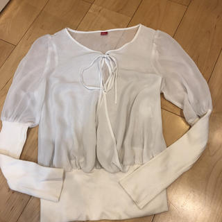 ダブルスタンダードクロージング(DOUBLE STANDARD CLOTHING)の異素材トップス ダブルスタンダードクロージング(カットソー(長袖/七分))