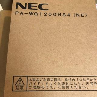 NEC - ルーターNEC Aterm WG1200HS4(NE)