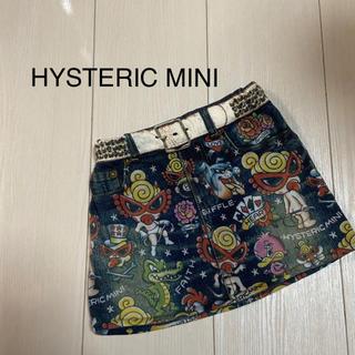 HYSTERIC MINI - ヒスミニ ライクアデニム スカート