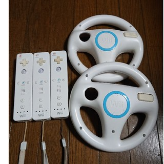 Wii - Wii マリオカート ハンドル リモコン