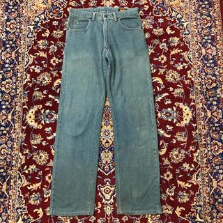 ジョンローレンスサリバン(JOHN LAWRENCE SULLIVAN)の90s vintage BIG JOHN mos-color jeans(デニム/ジーンズ)