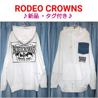 RODEO CROWNS - パッチジップパーカー♡RODEO CROWNS ロデオクラウンズ タグ付き