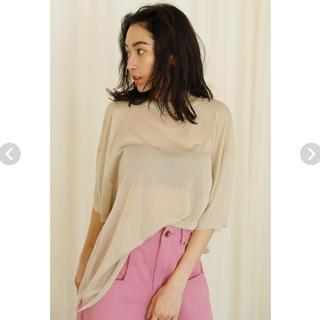 SeaRoomlynn - SHEERニットLOOSE Tシャツ