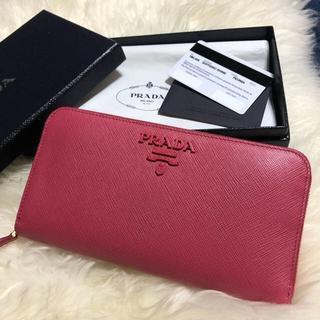 PRADA - 【極美品】PRADA♡サフィアーノ♡長財布