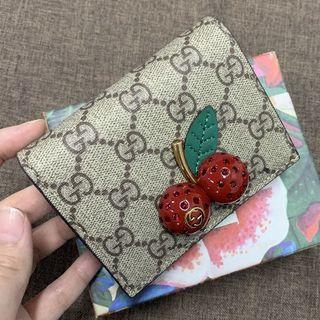 Gucci - GUCCI チェリー さくらんぼ ミニウォレット 財布