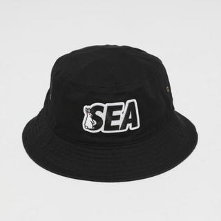 WIND AND SEA FR2 Patch Bucket Hat BLACK