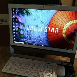 【高年式、美品!】NEC valuestar VS370/S(デスクトップ型PC)