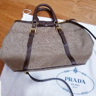 PRADA - ほぼ未使用 プラダ ハンドバッグ