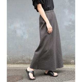 ローリーズファーム(LOWRYS FARM)のフレンチリネンカットオフスカート(ロングスカート)
