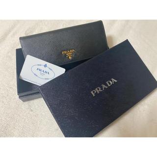 PRADA - PRADA プラダ 長財布 ブラック