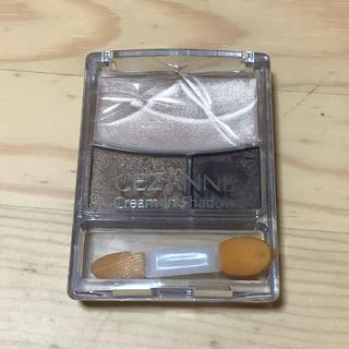 セザンヌケショウヒン(CEZANNE(セザンヌ化粧品))のセザンヌ クリームインシャドウ(アイシャドウ)01 ブラウン系(アイシャドウ)