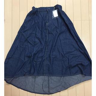 ローリーズファーム(LOWRYS FARM)のLOWRYS FARMロングスカート【未使用品】(ロングスカート)