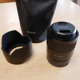 SONY - 美品☆Sony Sonner T* FE 55mm F1.8 SEL55F18Z